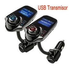 Transmisor FM Kit de coche Manos libre Inalámbrico Bluetooth USB Reproductor MP3