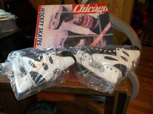 """CHICAGO ICE HOCKEY SKATES  Size 9 U.S. Size 42 Euro """"Never Used"""""""
