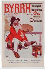 BYRRH VINS - TONIQUE HYGIENIQUE: Advertising postcard (C31607)