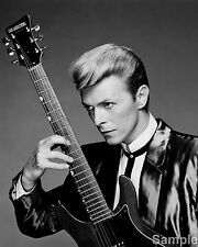 David Bowie Rock Star Black and White Photo Music Picture Art Print A4