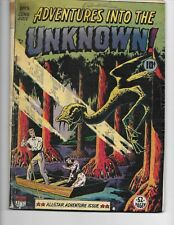 Adventures into the Unknown!  #5 ( VG  4.0) June-July-1949,  ACG