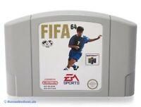 N64 / Nintendo 64 Spiel - FIFA 64 Modul