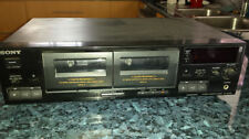 Sony Audio Cassette Tape Decks