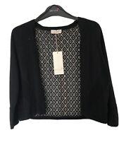 M&S Black Short Cardigan Size 16