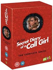 Secret Diary Of A Call Girl Complete Series 1 2 3 4 (8 DVD) Boxset Billie Piper