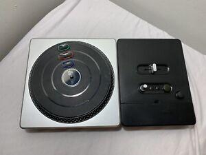 Nintendo Wii DJ Hero Wireless Turntable Controller | MPN: 95855.809 Untested