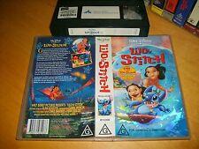 Vhs *LILO AND STITCH* Walt Disney Classics Animated Masterpiece - Not a Dvd!
