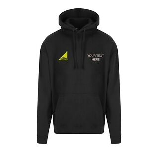 Embroidered Hoodie with gas safe logo & company name - plumber