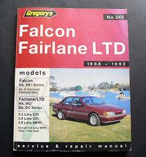 EA EB 1 FALCON NA NC FAIRLANE DA DC LTD FAIRMONT Workshop Service Repair Manual