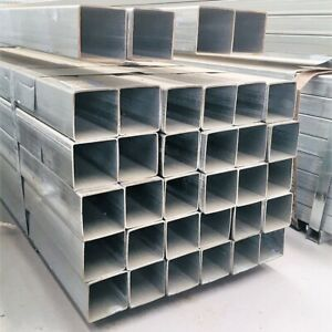 6m 50 x 50 x 2mm SHS Square Galvanized Steel Pipe Steel Tubing Steel Fence Post
