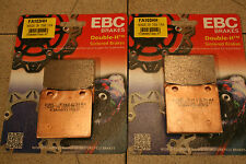 SUZUKI gv1400 Cavalcade 1986 EBC metallo sinterizzato pastiglie dei freni vo