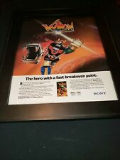 Voltron Defender Of The Universe Rare Original Promo Poster Ad Framed!