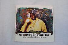 Notorious BIG-Puff Daddy-Mase-Mo Money Mo Problems-Bad Boy-Vintage 1997 CD-Art!!