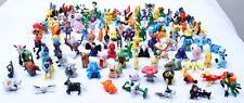 48pcs cute Pokemon Mini Action Figure 2-3cm Cake Topper kid toy gift US Seller