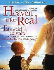 Heaven Is for Real (Blu-ray/DVD, 2014, 2-Disc Set, Canadian)