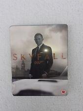 James Bond Skyfall - Blu Ray Steelbook - Danial Craig -VGC