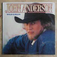 John Anderson Wild & Blue 1982 Vinyl LP Warner Bros. Records 1-23721