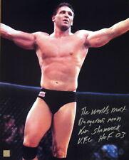 Ken Shamrock Autographed Signed UFC MMA 16x20 Celebration Photo ASI Proof