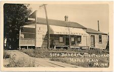 Home Bakery and Restaurant in Maple Plain MN RP Postcard