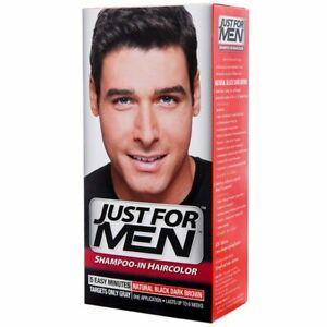 (3 x Boxes) Just For Men Hair Color Dark Brown 38.5 ml.