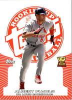 2005 Topps Rookie Cup Red #123 Albert Pujols/499 - NM-MT