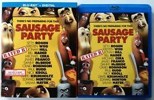 SAUSAGE PARTY BLU RAY + SLIPCOVER SLEEVE RATED R FREE WORLD WIDE SHIPPING BUY IT