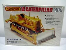Matchbox AMT Caterpillar Yellow Dozer D8H 1:25 Scale Model Kit New in Open Box