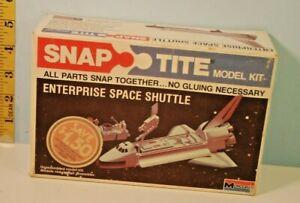 1978 Enterprise Space Shuttle Snap-Tite Monogram Model USA