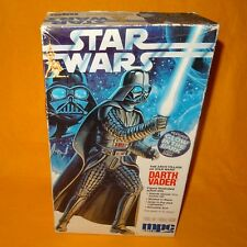 """1992 MPC ERTL STAR WARS DARTH VADER 11.5"""" FIGURE AUTHENTIC SCALE MODEL KIT BOXED"""