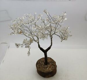 Natural Crystal Hand Made Decoration Tree Table decor 250 MM