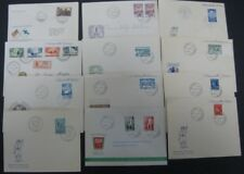 32 DIFFERENT FINLAND FDC'S 1933-1949, FACIT $424.00