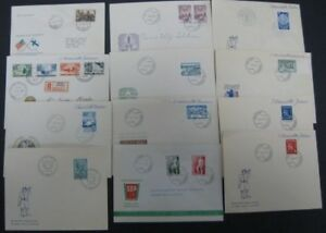 FINLAND First Day Covers, 32 different, 1933-1949, Facit $434.00