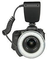 RF550 Macro 48pcs LED Ring Flash Light with bounce for SONY SLR HOT SHOE Camera