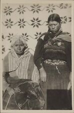 CHILE INDIAN REAL PHOTO 2 MOTHER AND DAUGHTER