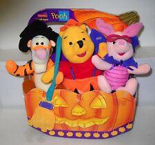 #5901 Target Pooh & Friends Halloween Plush Set As Pirates