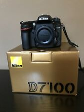 Nikon D D7100 24.1MP Digital SLR Camera - Black (Body Only) *LOW SHUTTER COUNT*