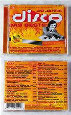 40 Jahre DISCO Das Beste - Agnetha Fältskog (SOS), Benny,.. 2011 Sony DO-CD TOP