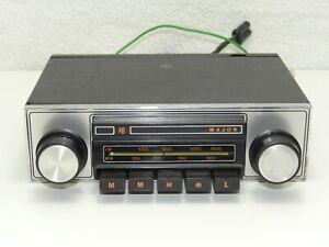 PYE Major 2064 Vintage 60s Classic Car Stereo Cassette Bluetooth Warranty Lotus