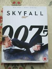 007 JAMES BOND SKYFALL 2012 FILM STARRING DANILE CRAIG BLU-RAY DISC + DVD RB UK
