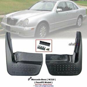 "Rear Mud Flap Splash Guard For Mercedes Benz E-Class W210 4Dr Sedan 1999-2002"""