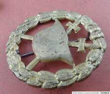 Kaiserreich 14 18  Abzeichen für Verwundete gold durchbrochene Form