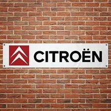 Citroen Banner Garage Workshop PVC Sign Trackside Car Display