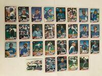 1989 TEXAS RANGERS Topps COMPLETE Baseball Card Team Set 29 Cards SIERRA HOUGH!