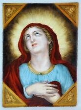 Exceptional 19th Century Italian religious hand painted porcelain (BI#MK/180218)