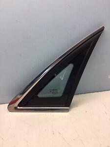 Holden Statesman / Caprice Rear R/H 1/4 Window With Chrome Trim