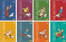 Herge Tim und Struppi Kompaktausgabe Gesamtausgabe alle 24 Bände in 8 Bücher