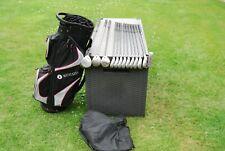 Full set of Ladies golf clubs Callaway + Wilson Woods + Irons Motocaddy bag R/H