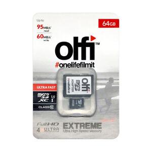 Olfi Camera - 64GB Micro SD Card