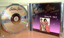 BONEY M. Vol. 2  -  Golden Stars international  -  Club Exklusiv - Best Of