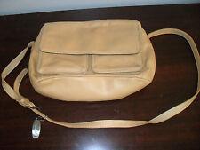 TIGNANELLO Brand Women's Camel Brown Leather Handbag